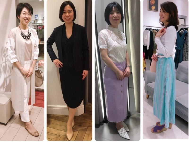 35歳からの「自分スタイル」を作るショッピング同行レッスン@新宿の画像