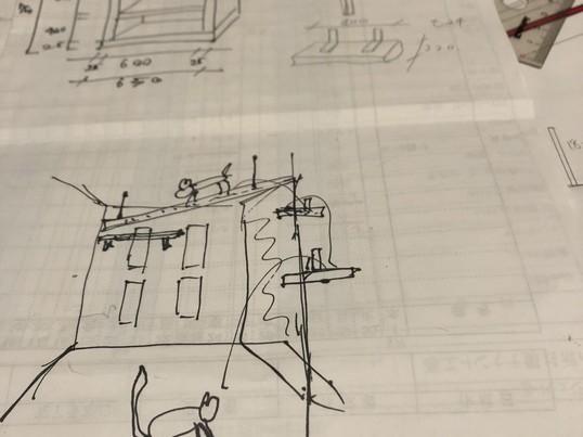 合板で作る簡単本棚の画像