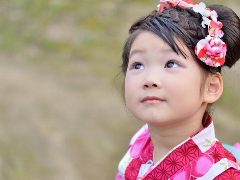 お子様向け日本舞踊体験教室の画像