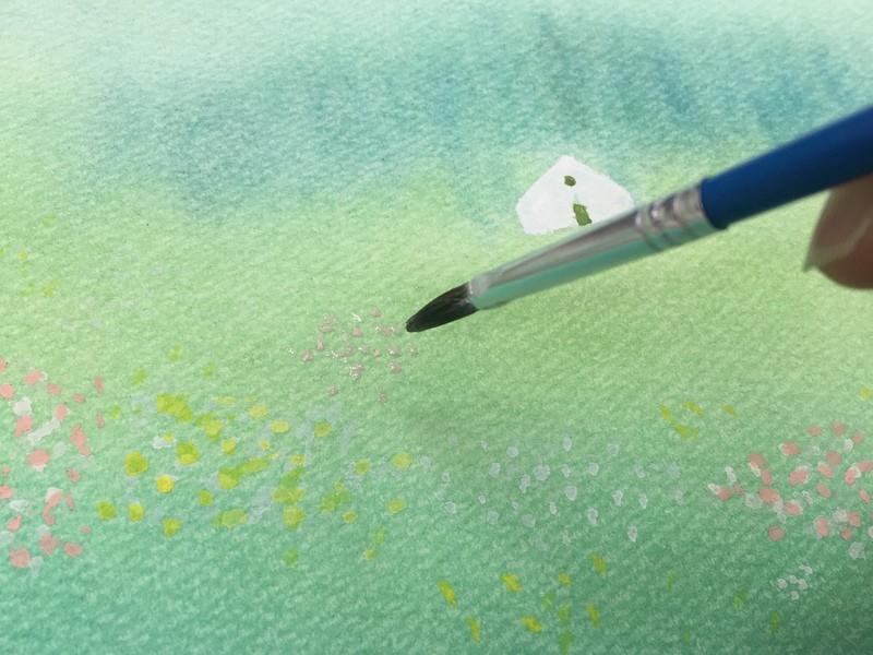 (葉祥明美術館公認)パステルと水彩で葉祥明さんの絵を描く講座の画像