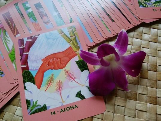 ハワイからの優しいメッセージ☆マナカードリーディング体験講座の画像