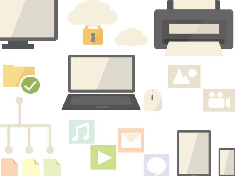 デジタルデータの整理整頓【ワーク付】の画像
