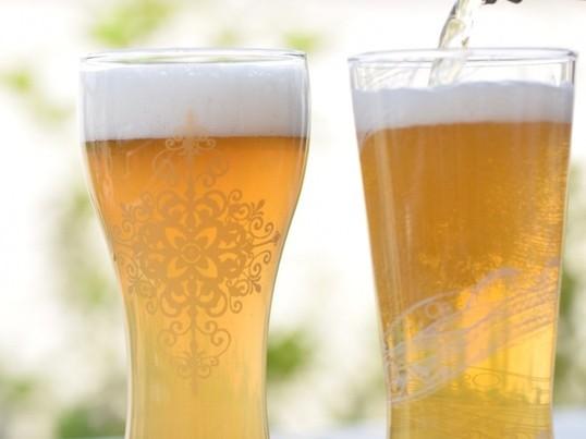 ポーセラーツで作る〈マイビアグラス〉Aピルスナー型の画像