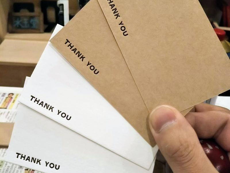 【活版印刷】活字を一行組んで自分だけのメッセージカードや栞を作ろうの画像
