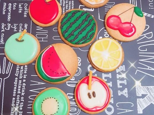 夏休み☆2人でお得に楽しむ!アイシングクッキーペアレッスンの画像