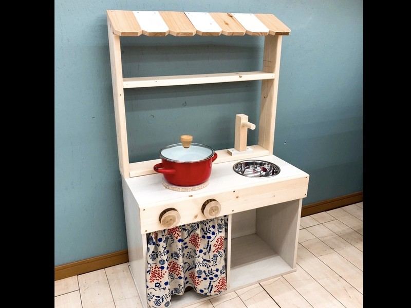 おままごとキッチンDIY教室(ホームセンターユニディ狛江店)の画像