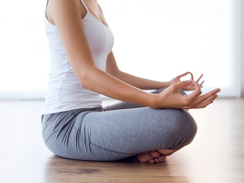 自分とつながるやさしい動きのヨガと瞑想、マインドフルネス(杉並区)の画像