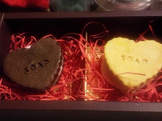 クッキーせっけん作りの画像