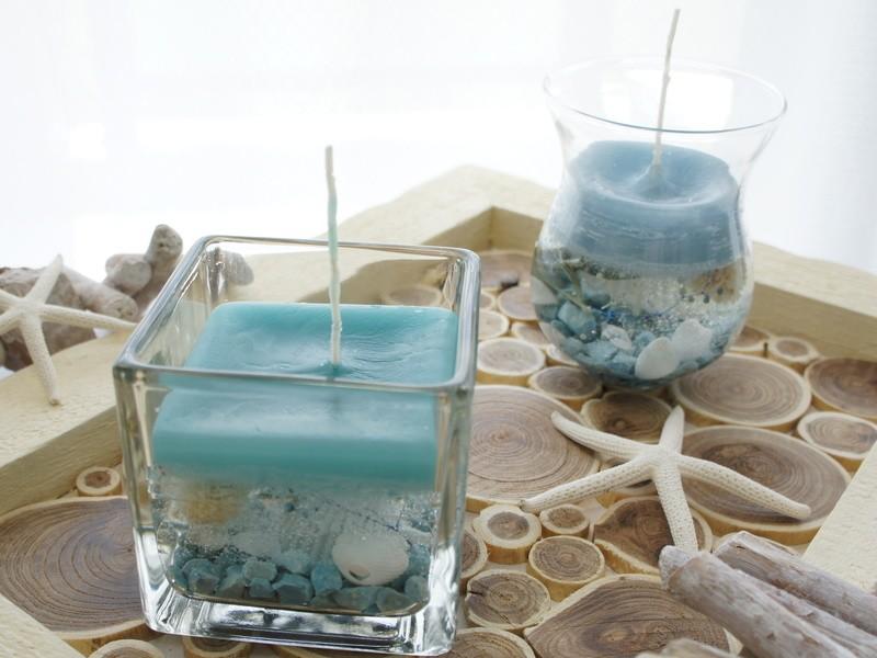 アロマジェルキャンドル~Summer scent~ の画像