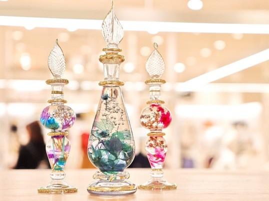 【大塚駅徒歩3分】アンティーク香水瓶のハーバリウム〜手ぶらでok〜の画像