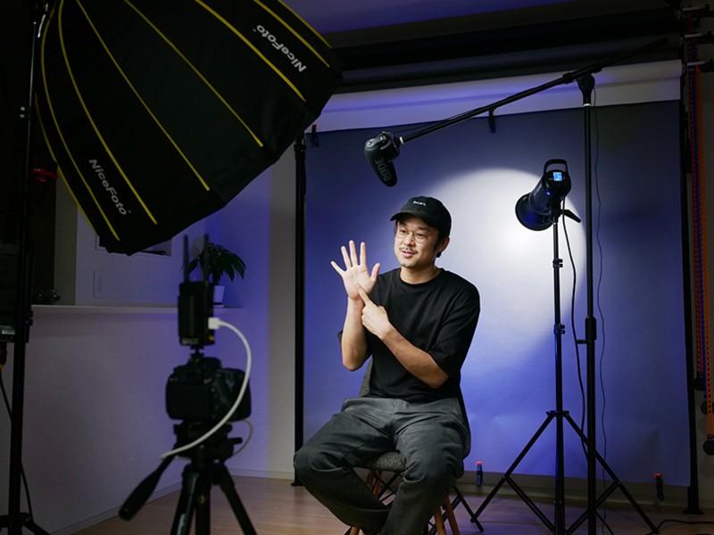 【動画撮影応用レッスン】〜ライティング・音声収録・カメラワーク〜の画像
