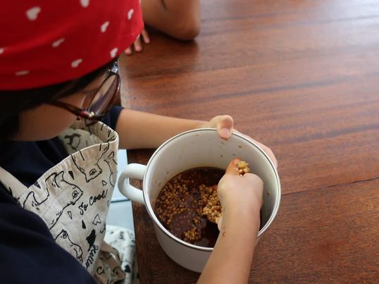 【自由研究】小学生親子のためのマインドフルネス発酵体験ランチ会の画像