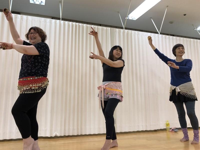 振付ワーク <ベリーダンス>の画像
