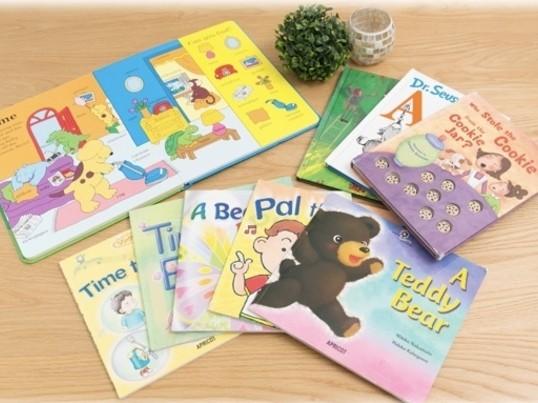 親子英語遊び教室の画像