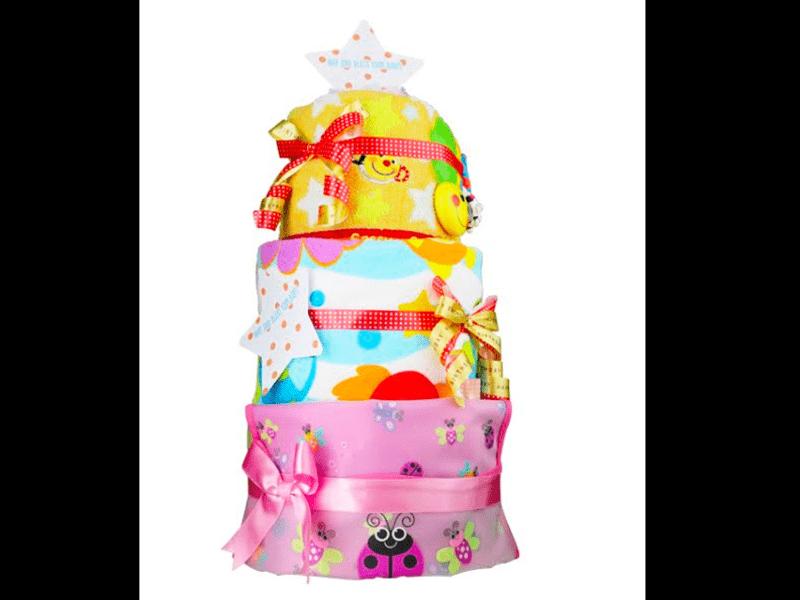 出産祝いに最適!喜ばれる!おむつケーキ作りませんか?の画像