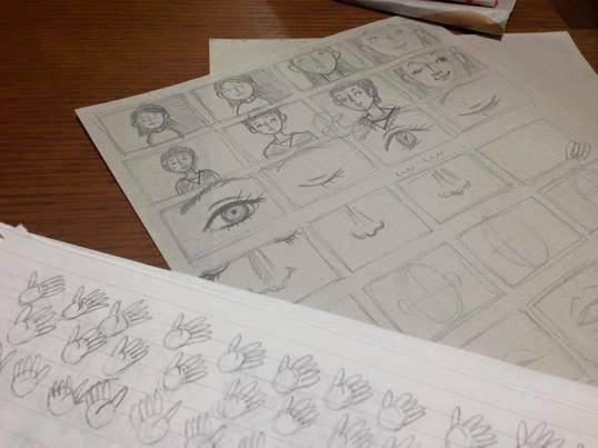 絵コンテのような絵を描こう:応用編の画像
