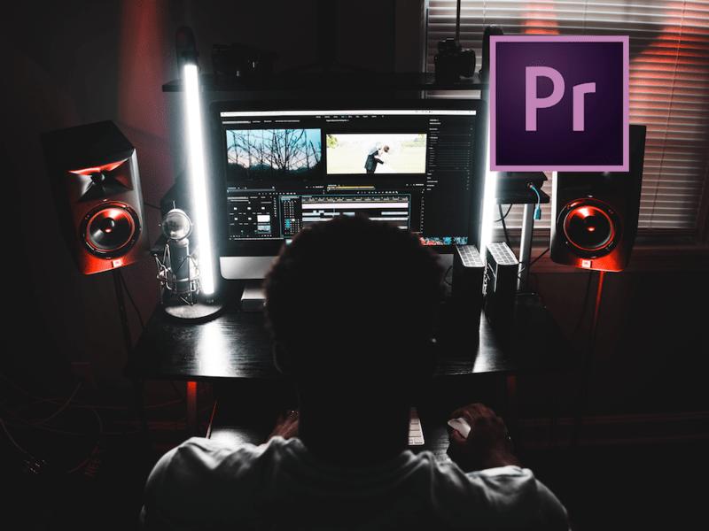 Premiere Pro 2.5H動画編集 オンライン基本セミナーの画像