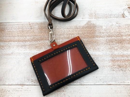 【手縫いで作るレザークラフト教室】カードホルダーの画像