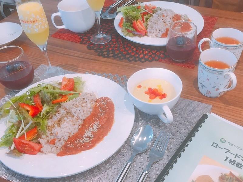 【初回お試し】食べて綺麗になる♡ローフード料理を体験しようの画像