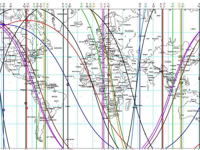 西洋占星術 完全マスター アストロマップを使いこなそうの画像