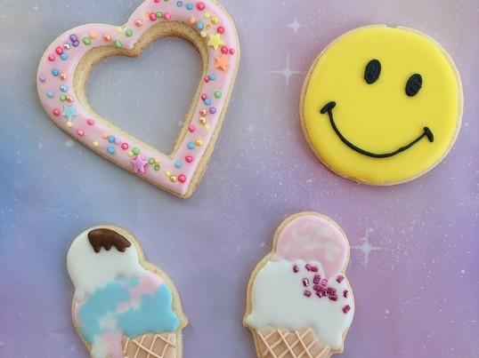 夏休み限定★親子アイシングクッキーレッスン!の画像
