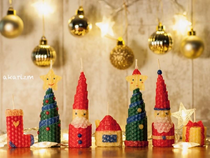 冬までにクリスマスキャンドル作りの先生になる!講師養成講座の画像