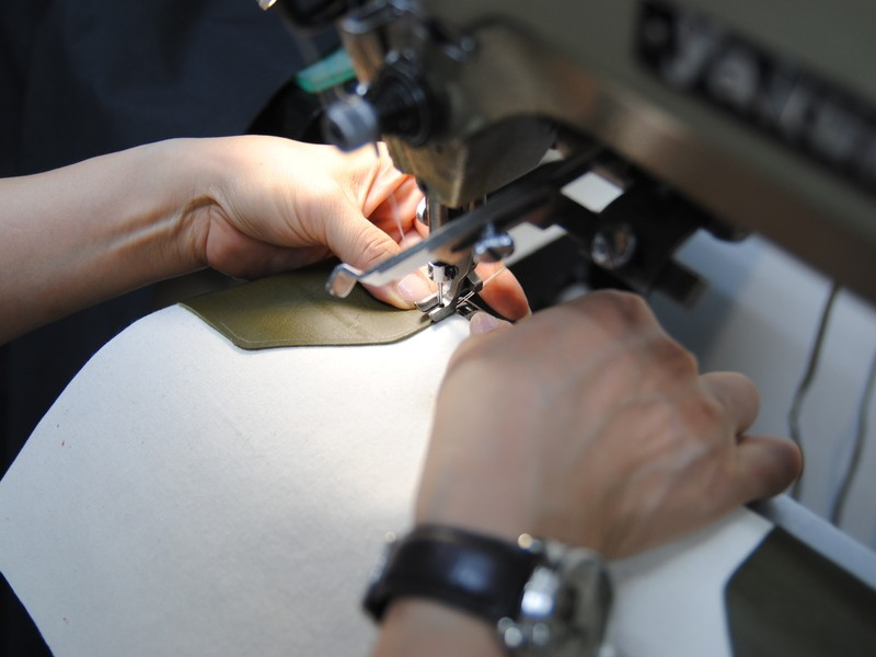 革と帆布でつくる自分好みのシンプルトートバックの画像