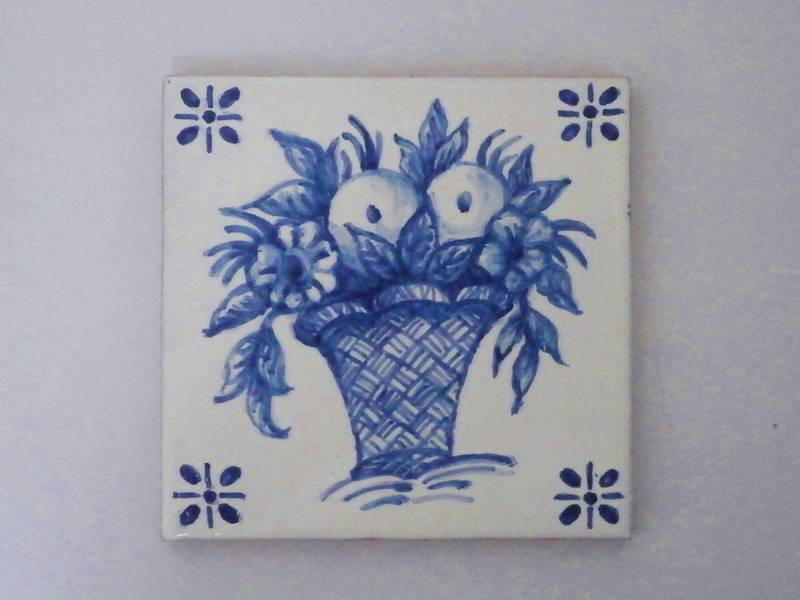 ポルトガルのアズレージョ絵付け☆で描く『青』の世界の画像
