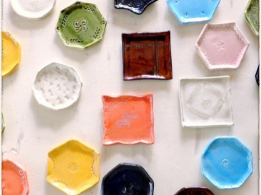豆皿ワークショップ+電動ろくろ体験の画像