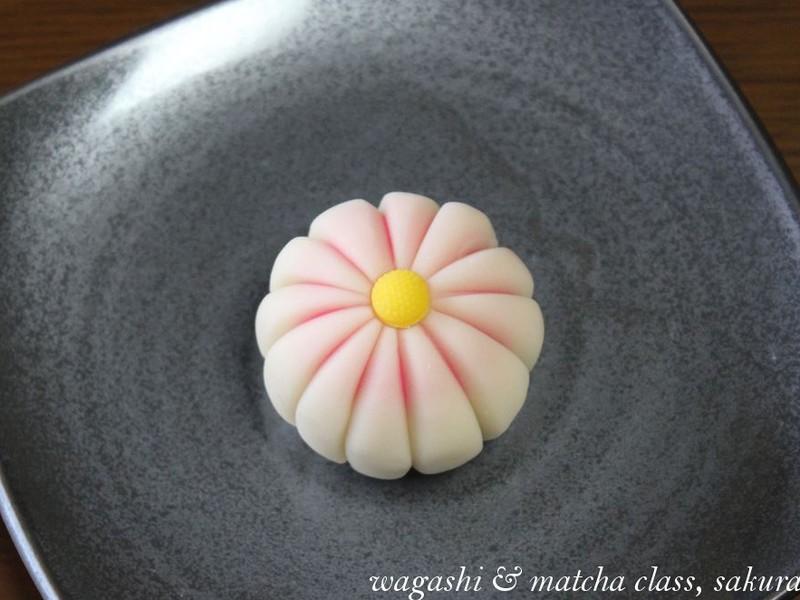 秋の練り切り「玉菊」に挑戦!簡単なお抹茶点て体験つき♪の画像