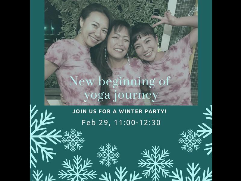 冬のヨガイベント!三種三様のクラスを楽しめるヨガリレーで暖まろう!の画像