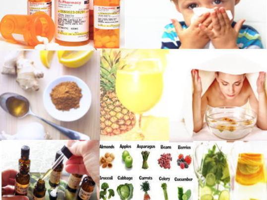 天然の風邪薬?「風邪薬の代わりとなる裏ワザ+薬の副作用」の画像