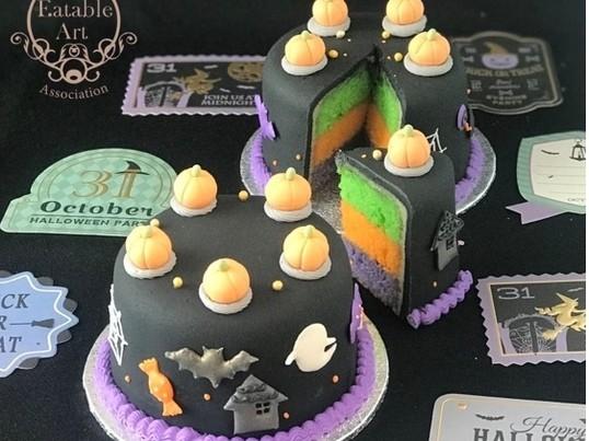 ハロウィンのシュガーケーキを作りましょう!の画像