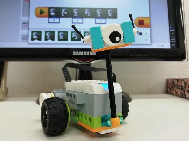 親子でロボットプログラミング体験の画像