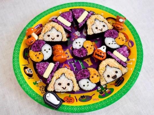🎃👻可愛いハロウィン柄👻🎃10月限定 巻き寿司レッスンの画像