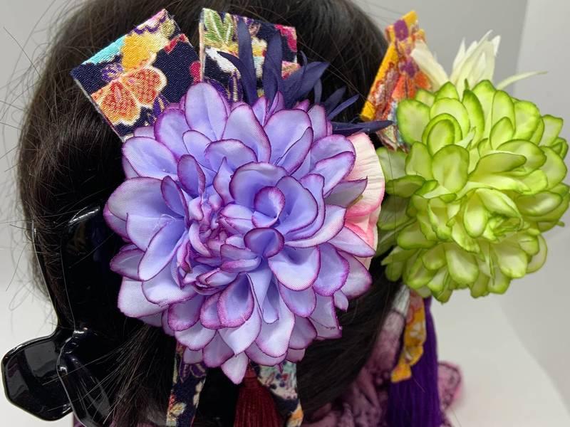 2019年の最新コレクション!お洒落な和装の髪飾り&コサージュ♪の画像