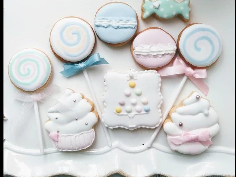 Sweetsなアイシングクッキーのレッスンの画像