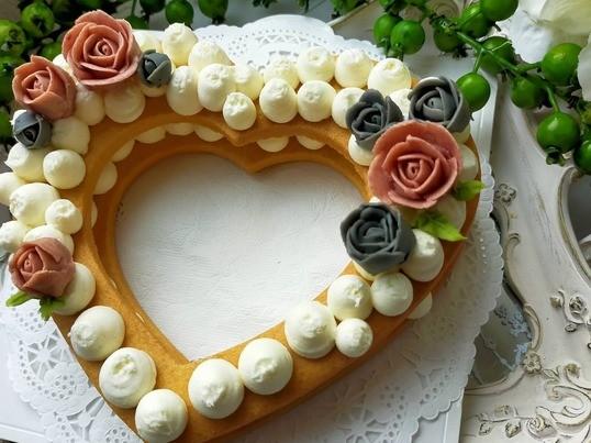 ローズショコラのナンバーケーキの画像