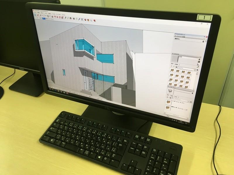 3DCGの入り口「SketchUp」編の画像