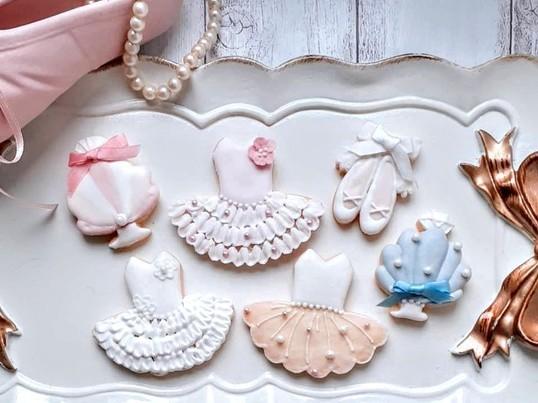 アイシングクッキー 【バレリーナ】の画像
