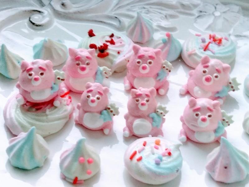 美味しいメレンゲクッキーを作りましょう。の画像