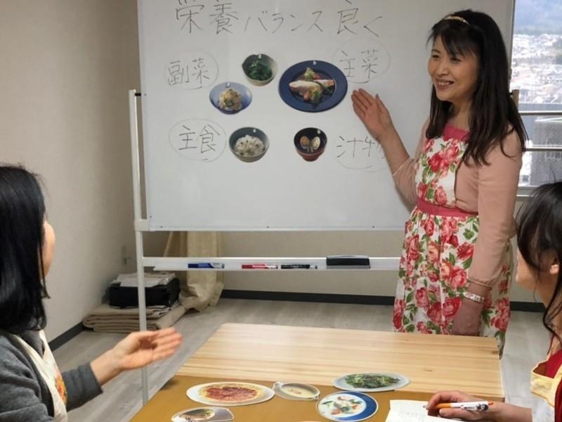 管理栄養士が教える!時短で簡単、栄養バッチリ献立を学べる料理教室の画像