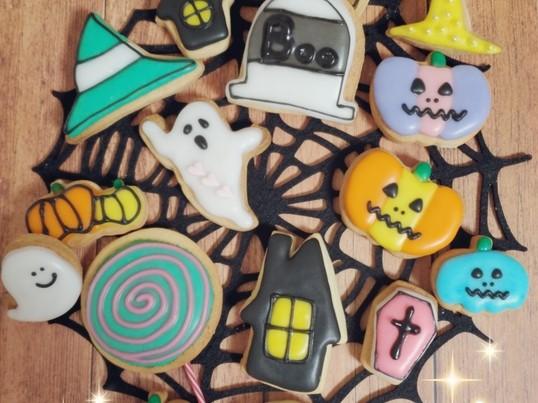 HAPPYに盛り上がる!ハロウィーンクッキーを作ろう♡の画像