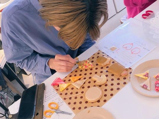 アイシングクッキーの楽しさを実感する実践講座の画像