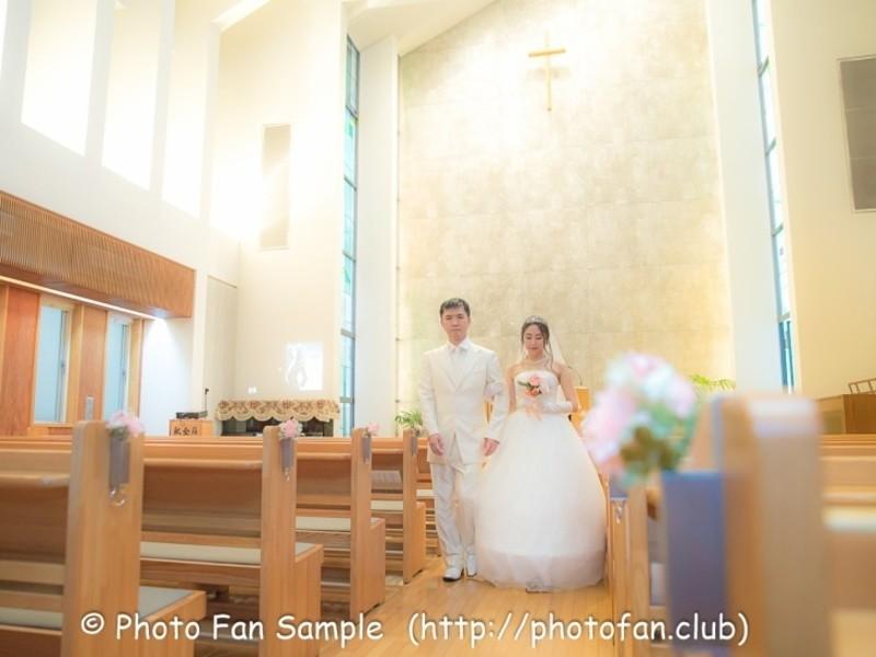 ブライダルカメラマン撮影実践講座③【教会編】本物の教会で学ぶ・撮るの画像