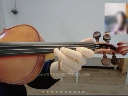 【オンライン開催・30分】大人のヴァイオリンレッスンの画像