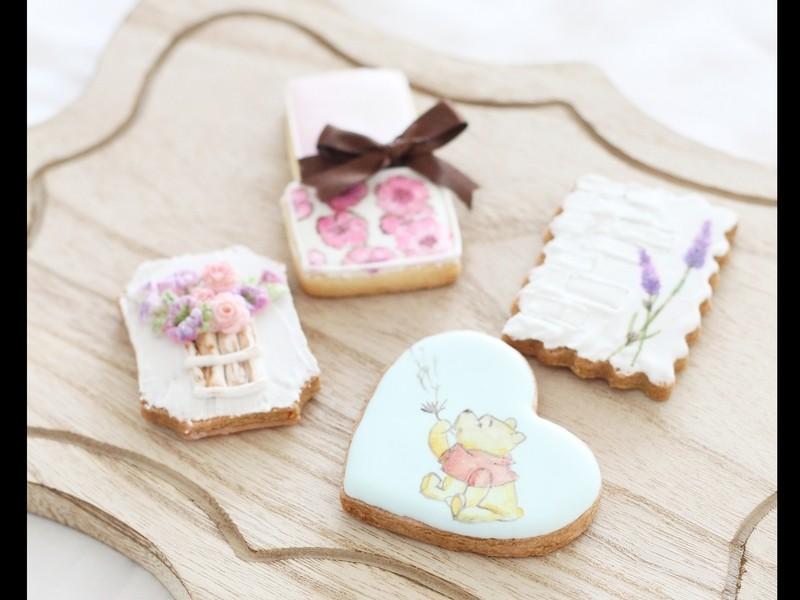 ペイントで楽しむアイシングクッキーの画像