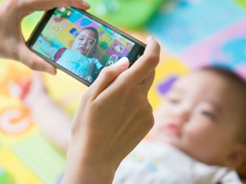 スマホでカンタン!赤ちゃんを可愛く撮る教室の画像