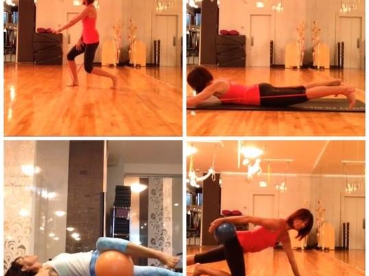 ピラティス×筋膜エクササイズでコリが緩む!姿勢が整う新感覚レッスンの画像