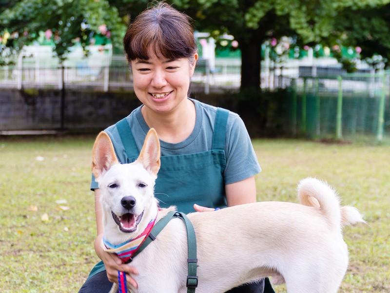 愛犬をスマホで可愛く撮りたいを叶えます。の画像